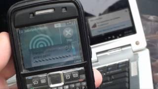 Using A Straight Talk Nokia E71 With JoikuSpot As A Wifi