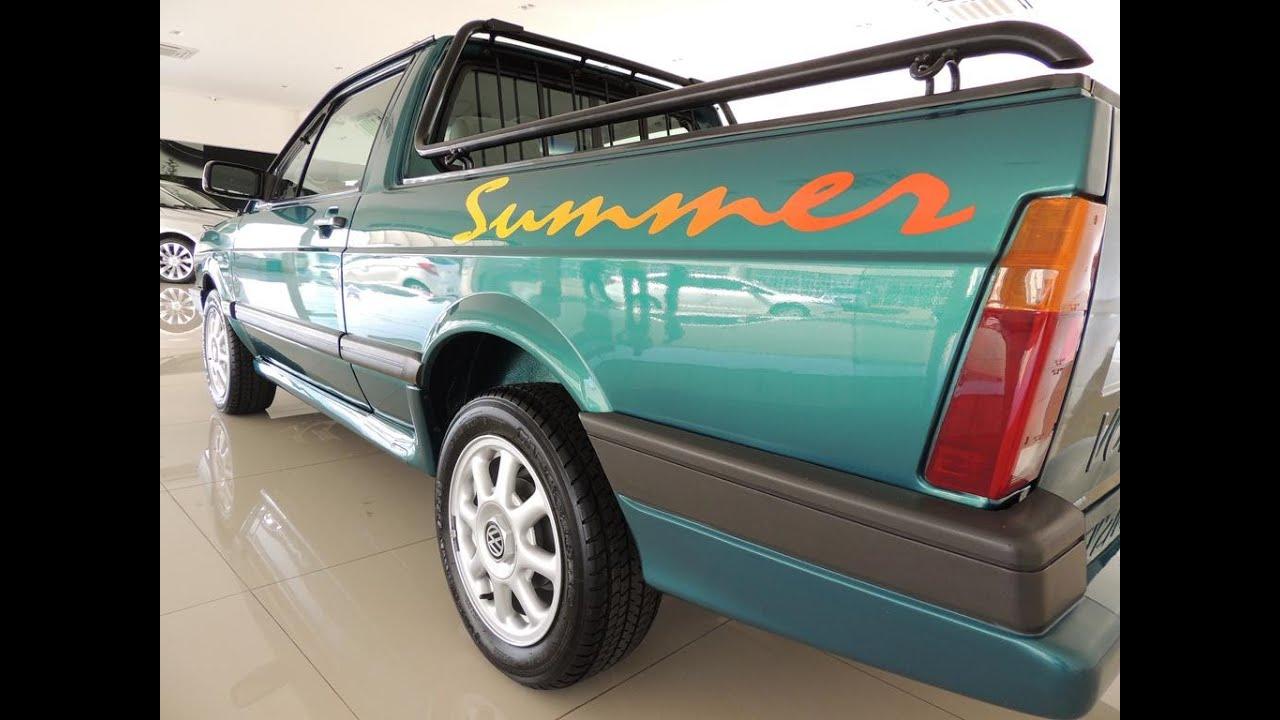 Saveiro Summer 1996 Vendido com 12.000 km