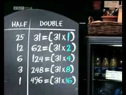The Ethiopian System of Multiplication - Amazing Methods of Calculation