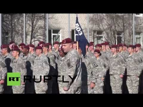 Latvia: US troops arrive in Baltics for NATO drill