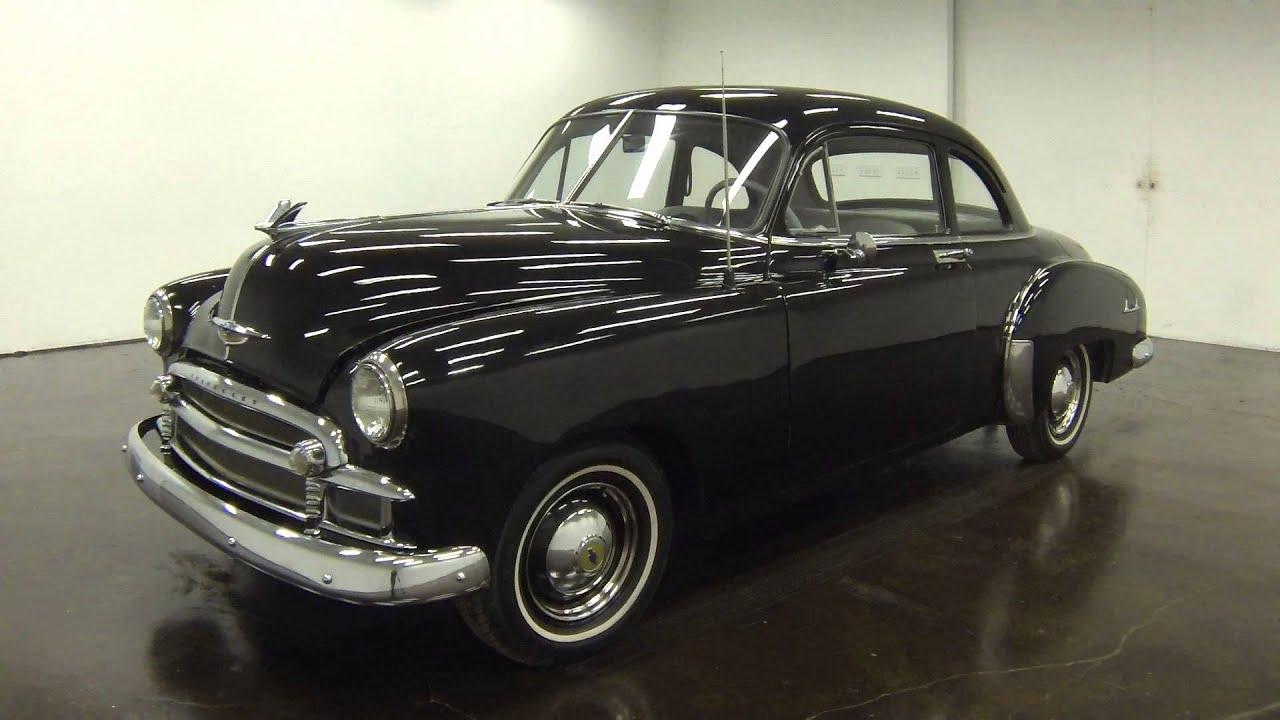 1950 chevrolet 2 door club coupe youtube for 1950 chevrolet 2 door