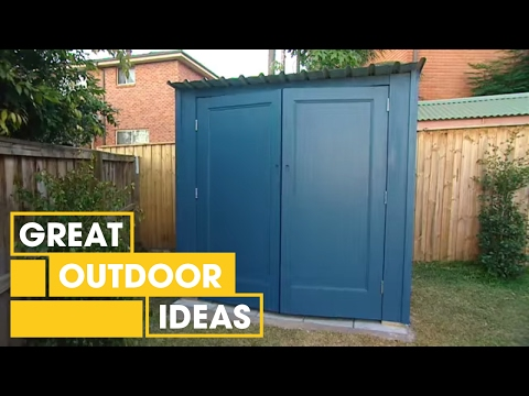 DIY: building your own shed - YouTube