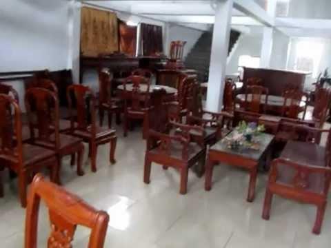 Bàn ghế ăn gỗ gụ, gỗ hương Đồ gỗ mỹ nghệ Đức Hiền 17/7/2012