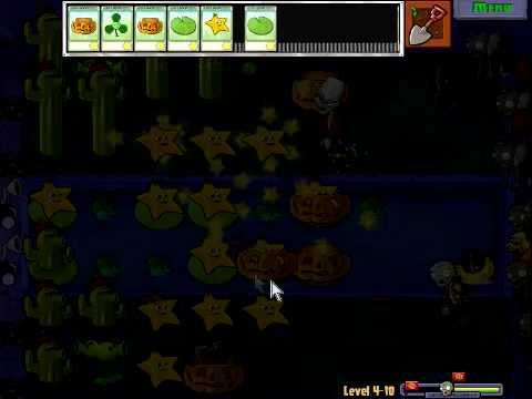 Plants Vs Zombies - Stage 4-10