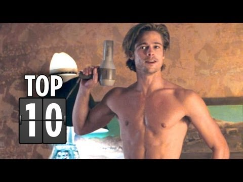 Top Ten Brad Pitt Movie Characters (that aren't Tyler Durden!) - Brad Pitt Movie List HD