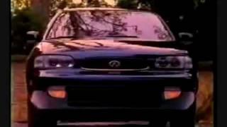 Infiniti j30 TV commercial