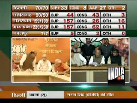 Narendra Modi`s popularity benefitted BJP: Rajnath Singh