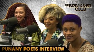 The Punany Poets Talk Spiritual Sex and Try To Give Charlamagne A Touchless Orgasm
