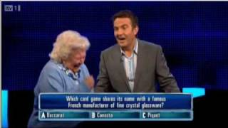 ITV1 The Chase Contestant Stitches Up The Chaser!
