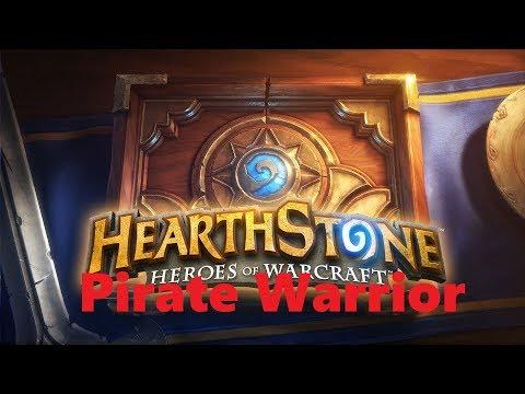Hearthstone - Pirate Warrior deck #2 Gameplay PL