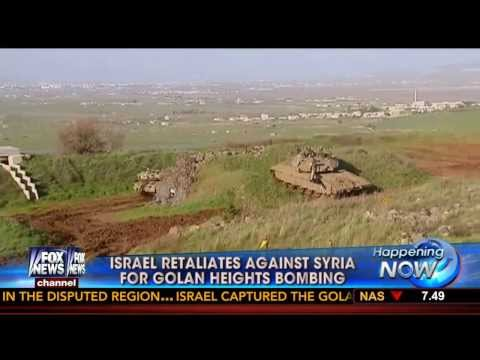 Isaiah 17 : Tensions High as Israeli IDF retaliates on Syrian Military Positions (Mar 19, 2014)