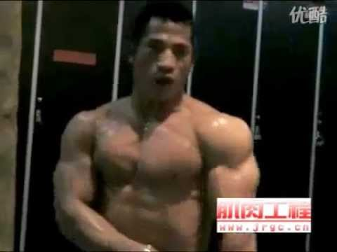 Bodybuilders fucking male naked