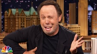 Billy Crystal Talks out of Jimmy Fallon's Mouth