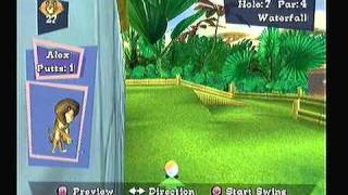Let's Play Madagascar (PS2) Tiki Minigolf?