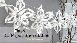 פתיתי שלג 3D