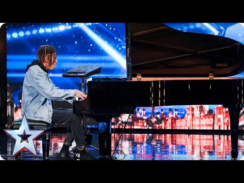 Tokio Myers tinkles the ivories with an edgy twist | Auditions Week 3 | Britain's Got Talent 2017