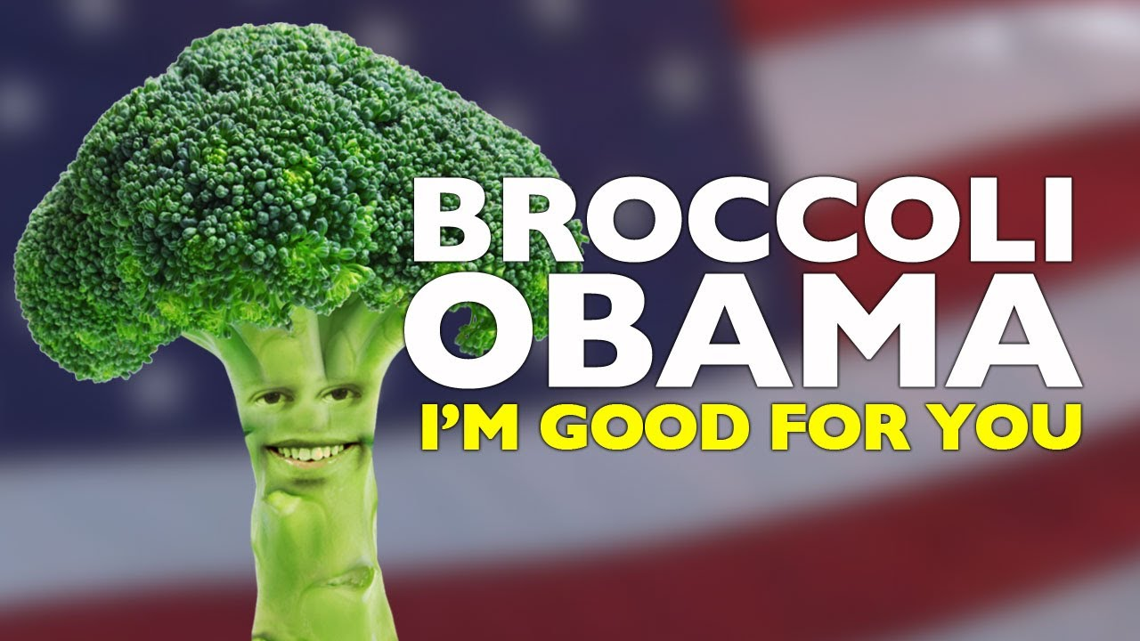 annoying orange broccoli obama presidential campaign