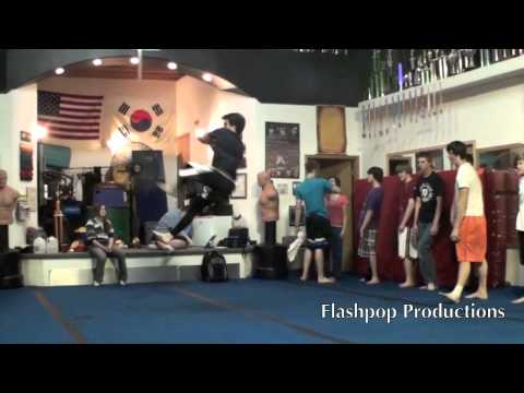 Michael Guthrie & Cole DeRuse - Training for Loopkicks 2011