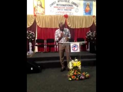 Christ Apostolic Church Int, Manchester, DC Johnny Boye