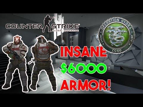 HYDRA OPERATION GAMEPLAY! 6000$ SUPER ARMOR! CS:GO