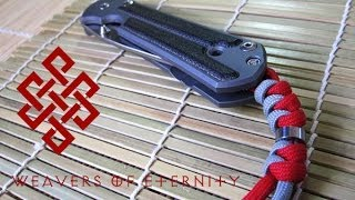 How To Tie A Chris Reeve Lanyard (Snake Knot With Bead