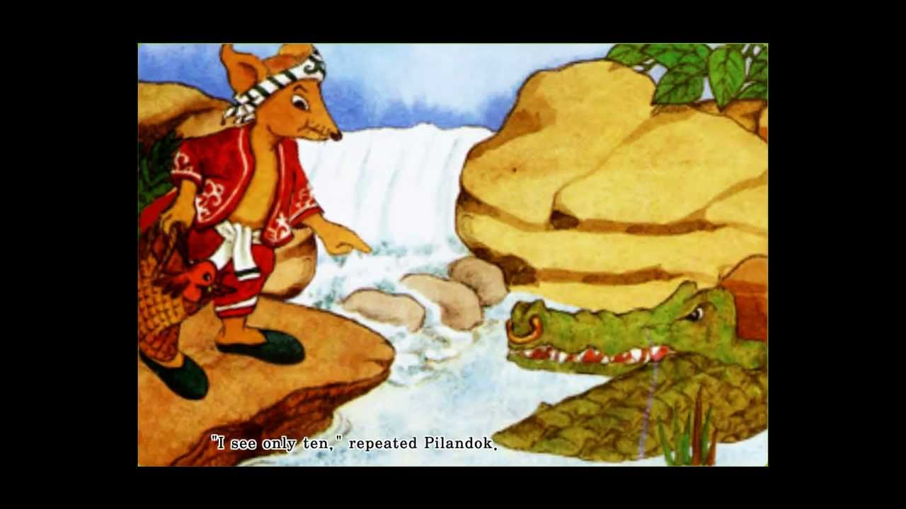 outwitting a crocodile Outwitting a crocodile characters: in this story, sang kancil who is a very smart,clever and tricky mouse deer is always do the trick to other animals want to eat him.