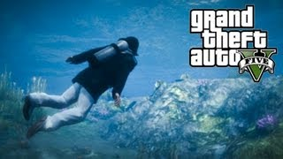 ★ GTA 5 How To Get SCUBA DIVING SUIT From The