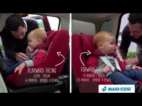 Maxi Cosi 2wayPearl i-Size Car Seat