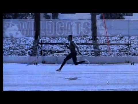 Carmelita Jeter sprint analysis by dr. Ralph Mann