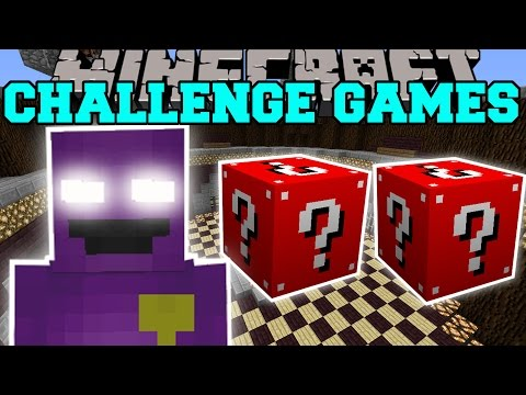 Pacman fight challenge games lucky block mod modded mini game