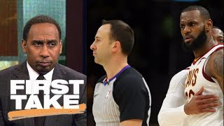 Stephen A. Smith says LeBron James deserved to be ejected   First Take   ESPN