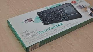 Logitech Wireless Touch Keyboard K400 Review