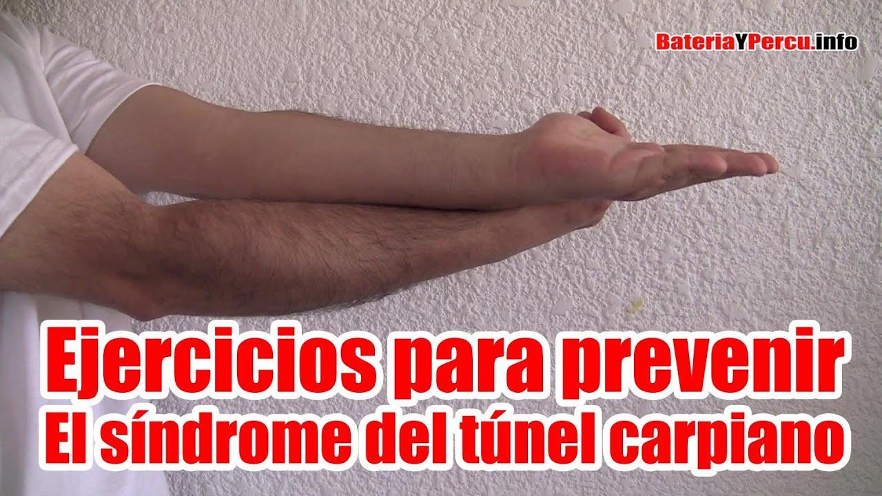 Ejercicios para evitar el Síndrome del Túnel Carpiano