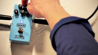Watch the Trade Secrets Video, MXR M234 Analog Chorus Pedal Video