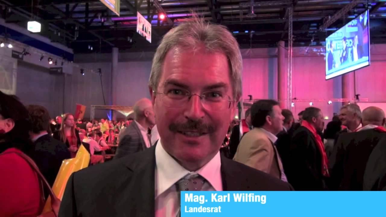 Landesrat Karl Wilfing über Angela Fichtinger