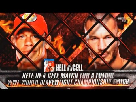 WWE Hell in a Cell 2014 - John Cena vs Randy Orton Hell in a Cell 2014 Full Match HD!