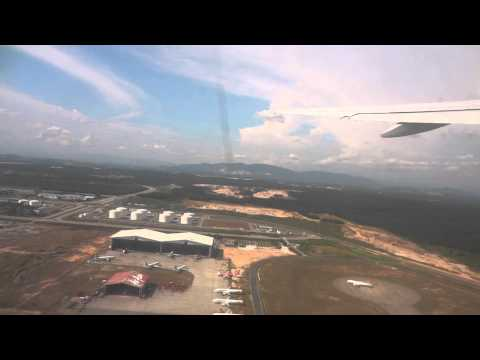 Malaysian Airlines B777 take off from Kuala Lampur to Jeddah