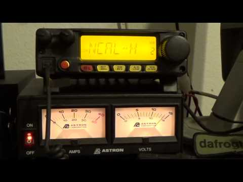 A quick look at my 2 meter Ham radio