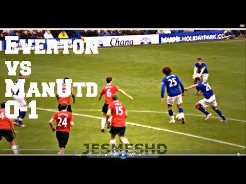 Everton vs Manchester United 0-1 (HD)