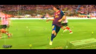 Lionel Messi Runs And Dribbling Skills 2011-2012 Part 1