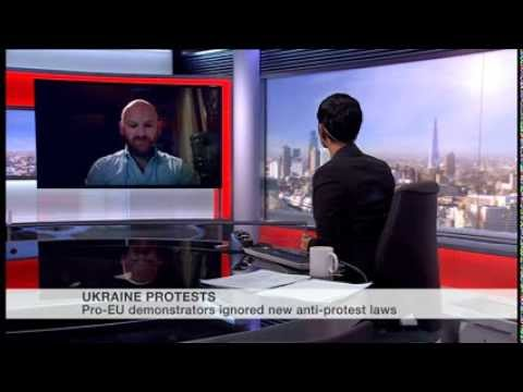 BBC World News 'The World Today' 20 January 2014 image