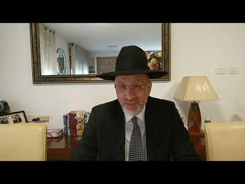 12  la techouva des yeux  en l honneur du Rav Yossef Haïm Sitruk ZAL