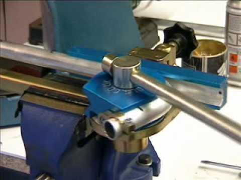 Ridgid Pipe Threading Machine