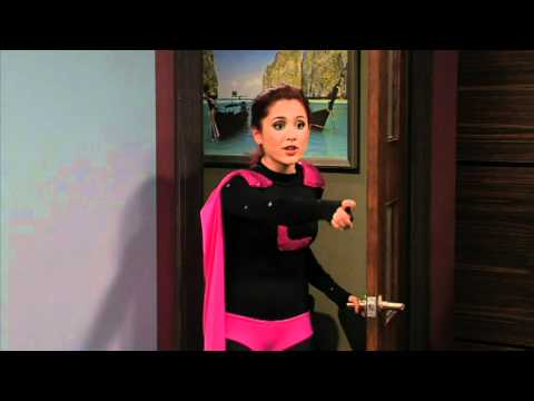 Victorious - Beck Falls for Tori - SuperCat, Super Cat and the purple tiger.