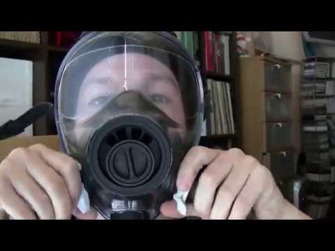 Military Gas Mask NBC 40mm Made in the USA Review