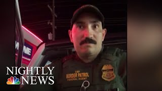 Woman Detained By U.S. Border Patrol Agent After Speaking Spanish | NBC Nightly News
