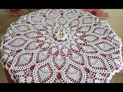 Crochet Doily How to crochet Part 1