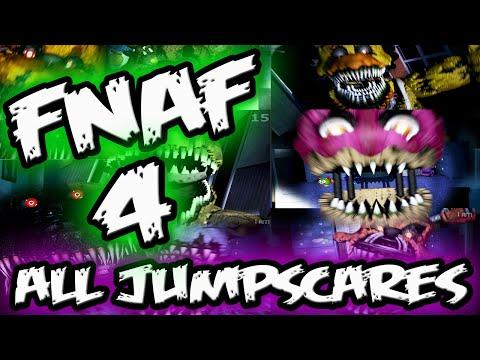 FNAF 4 JUMPSCARES || ALL FNAF 4 Jumpscares || Five Nights at Freddy's 4 Jumpscares