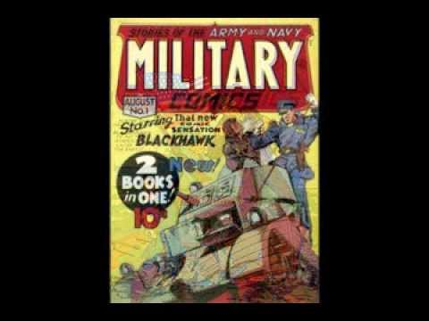 Deconstructing Propaganda: World War II Comic Book Covers, Ep. 10 Pt. 1--Images of the Armed Forces