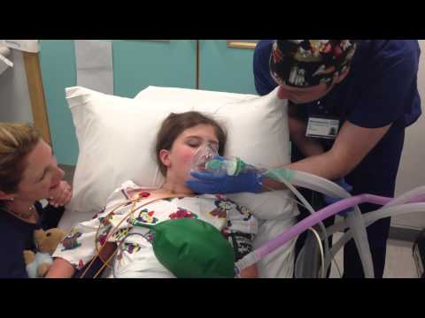 My General Anaesthetic: What's Going To Happen? Sarah's Journey